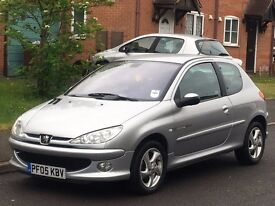 2005 Peugeot 206 1.6 HDi Low mileage 44k 1 owner from new