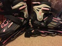 In Line Roller Blades Size 1-4