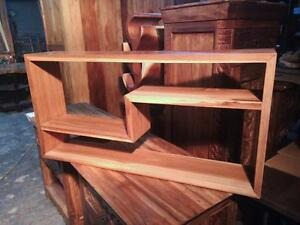 **NEW**  Étagère 100% Bois de Teck // Teak Wood Shelf unit made in Indonesia