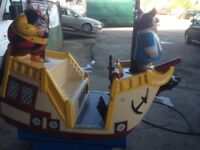 Captain Pugwash coin operated kiddie ride