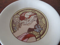 Vintage Poole Pottery Trinket Dish Fleuire Ring Tray Jewellery Tray