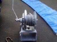 Fulton K1051 braked hand winch