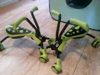 Scramble bug hornet green and black. 2 available at £20 each