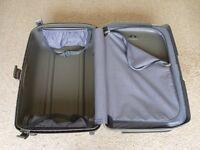 Samsonite Taupe Suitcase and Vanity Case