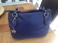 Radley Handbag (Purple Leather)