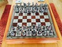 Fantasy of The Crystal Chess Set