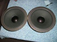 "TONSIL ALTON GDN 30/80/4 SPEAKERS BASS DRIVERS 12"" 310mm."