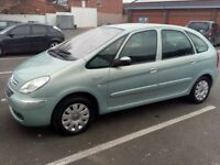 CITROEN XSARA PICASSO , 2.0L DIESEL ,MANUAL,TOW BAR, 2 KEYS, 11 MONTHS MOT, SUPERB CONDITION FOR AGE