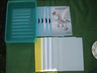 Eleven Plastic Files and a Correspondence Tray for £5.00
