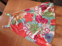 Multicolour Flowery Dress for 6/7 Year Old Girls - Very Good Condition