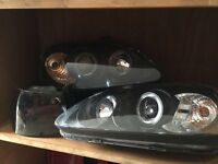 Honda Civic EK Facelift Angel Eye Headlights EJ9 EK3 EK4 EK9