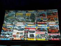 Classic Ford Magazines 2013/14