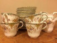 Vintage tea set: English bone china