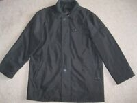 Men's 2XL black warm quilted coat