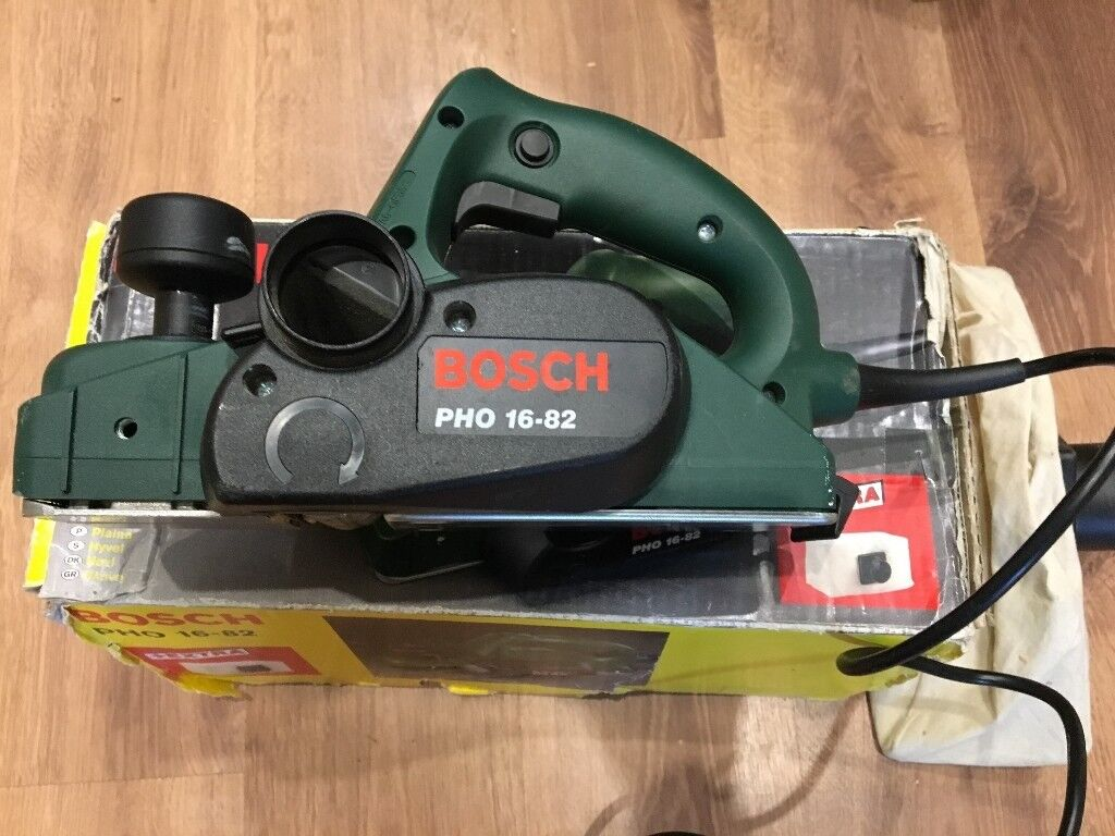 Bosch Electric Planer Pho 16 82 And Dustbag In Culcheth Cheshire What Does An Do
