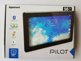 "BOXED AS NEW HipStreet Pilot 10"" LCD IPS Tablet 16GB Quad Core Android Lollipop Bluetooth HDMi"