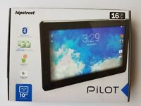 """BOXED AS NEW HipStreet Pilot 10"""" LCD IPS Tablet 16GB Quad Core Android Lollipop Bluetooth HDMi"""