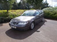 Saab 95 linear tid estate 2.2 diesel excellent runner new mot,