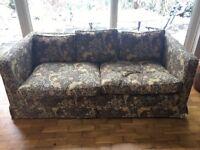 2/3 person sofa, late 70's original, good condition