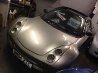 Smart convertible 0.7 L vgc convertible work perfect running and drive very cheap insurance & tax