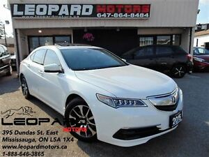 2015 Acura TLX Premium,Leather,Camera,Pad Shifing*No Accident*