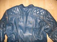 Leather G Mac Motorcycle Jacket.