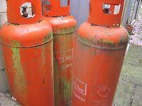 47kg Propane Gas Cylinders x 4