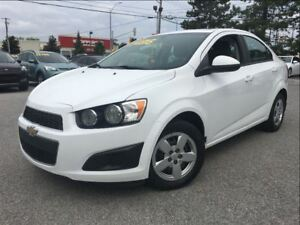 2014 Chevrolet Sonic LS 5SPD A/C LEASE RETURN!