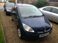 2005 Mitsubishi Colt 1.5 DiD - Only 63000 Miles - Option for Brand New MOT