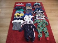 BABY BOYS CLOTHING BUNDLE, 32 ITEMS, SIZE 18-24 MONTHS