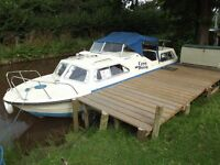 Norman Conquest 20ft center cockpit canal /river cruiser