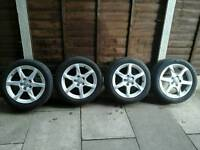 2011 AUDI. 17,ALLOY WHEELS ,225,50,17,,,2 FANTASTIC TYRES, ,,,