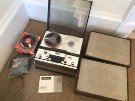 Vintage 1965 UHER 724L Reel to Reel Machine