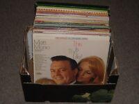 50+ Records Lps Albums collection job lot Matt Monro Petula Clark compilations etc