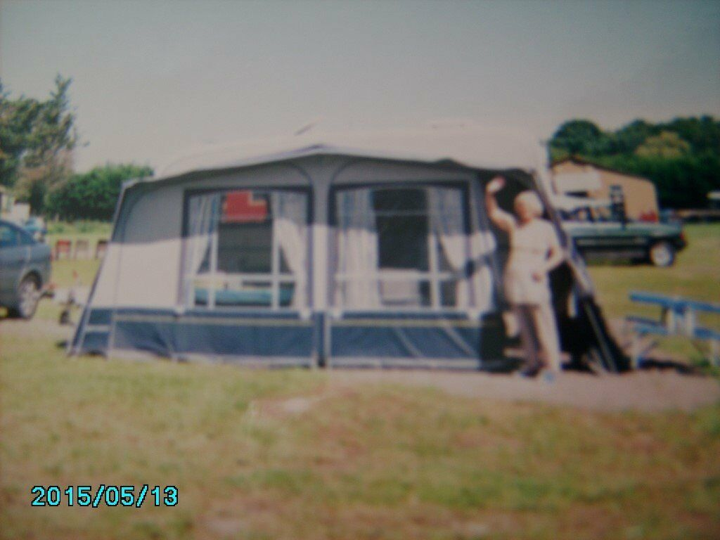 Caravan Awning For Sale Used But Good Condition In Sandwell