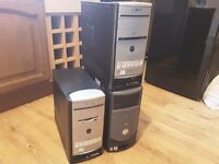 JOBLOT OF 3 PC TOWERS