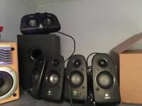 Logitech Z506 5.1 surround sound PC speakers