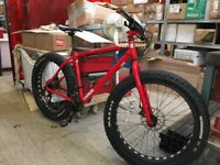 Fatbike charge cooker open to bike swaps