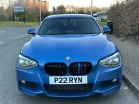 BMW 1 SERIES M SPORT 2012 ESTORIL BLUE