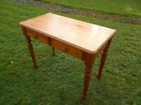 Lovely Pine Hall Table