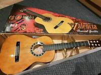 Valencia 3/4 Guitar with carry case