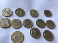 rare coins £2 and 50p