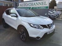 Nissan Qashqai 1.2 DIG-T N-Connecta Xtronic CVT 5dr£17,450 p/x welcome NEARLY NEW. FINANCE AVAILABLE