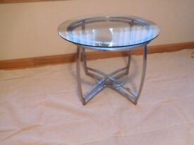 living room side table top quality as new
