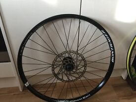 Choice of 2 Front wheels Both 20mm 26inch one Bontrager one Alex rim