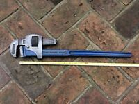 Adjustable Spanner-RECORD-20 inch long with 4 inch opening jaws