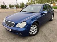 2004 MERCEDES C CLASS / LOWER MILEAGE / ALLOYS / CD / FEB MOT