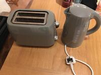 Matching Kettle and Toaster