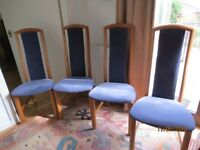 Skovby Dining Chairs - Set of 6