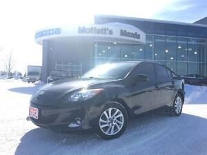 2013 Mazda MAZDA3 GS-SKY LEATHER, SUNROOF, HEATED SEATS